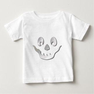 Silver JackOLantern Face Baby T-Shirt