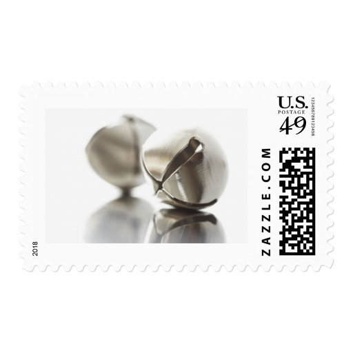 Silver Jingle Bells Stamps