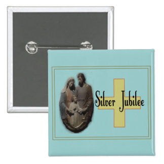 Silver Jubilee Gifts For Nuns Pinback Button