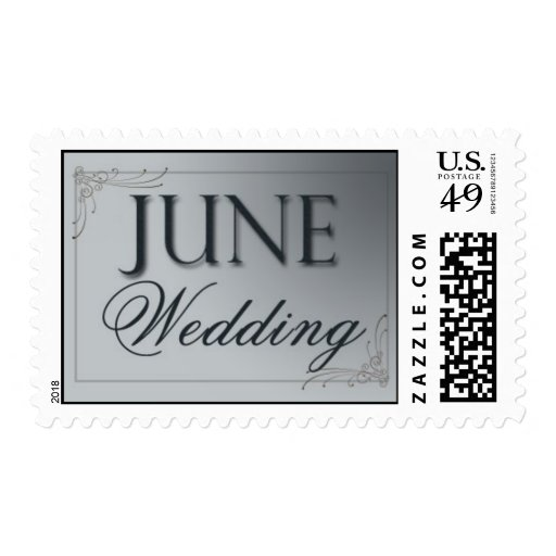 Silver June Wedding Stamps