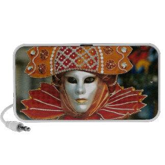Silver Kabuku Mask Notebook Speaker