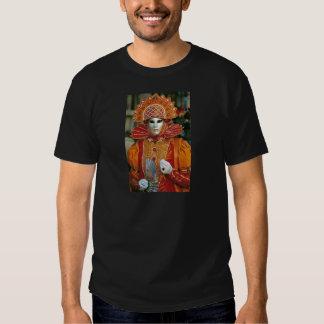 Silver Kabuku Mask T-shirts