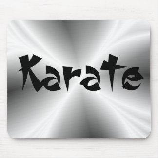 Silver Karate Mousepad