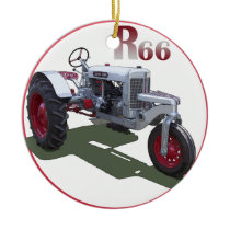 Silver King R66 Ceramic Ornament