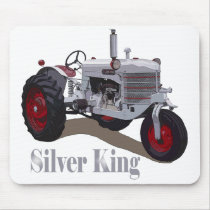 Silver King Tractor Mouse Pad