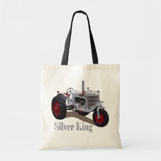 Silver King Tractor Tote Bag