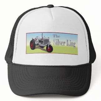 Silver King Tractor Trucker Hat