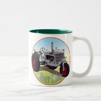 Silver King Tractor Two-Tone Coffee Mug