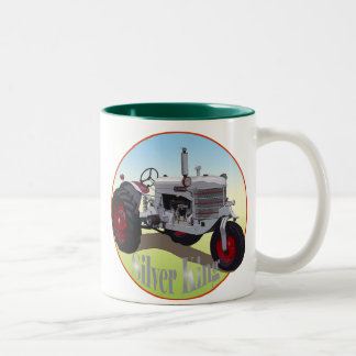 Silver King Tractor Two-Tone Coffee Mug