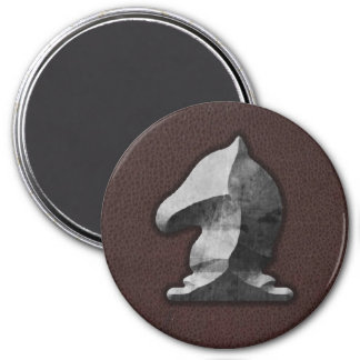 Silver Knight - Zero Gravity Chess (SLS) Fridge Magnets