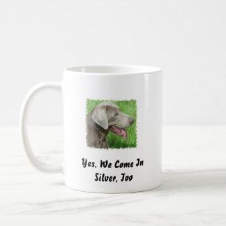 Silver Labrador Retriever Mug