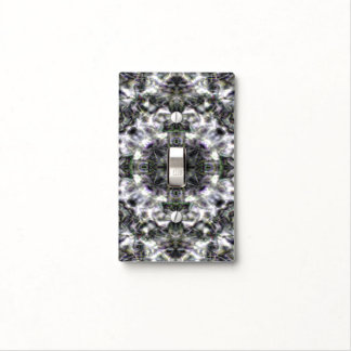 Silver Lace Light Switch Cover