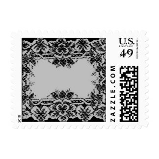Silver Lace Postage Stamps