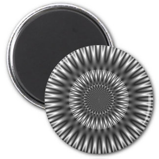 Silver Lagoon 2 Inch Round Magnet