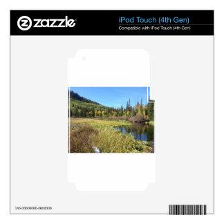 Silver Lake -Brighton, Utah iPod Touch 4G Skin