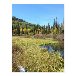 Silver Lake -Brighton, Utah Postcard