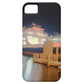 silver lake ferry boat at ocracoke island iPhone SE/5/5s case