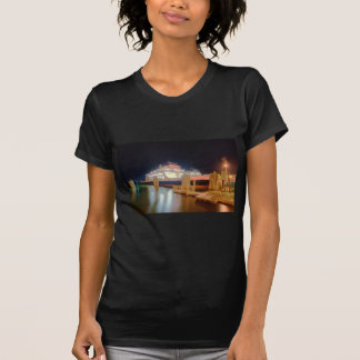 silver lake ferry boat at ocracoke island T-Shirt