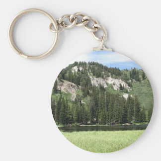 Silver Lake Keychain