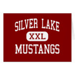 Silver Lake - Mustangs - High - Roseland Nebraska Card