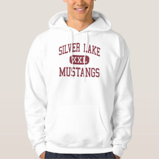 Silver Lake - Mustangs - High - Roseland Nebraska Hoodie