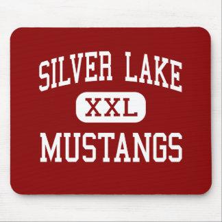 Silver Lake - Mustangs - High - Roseland Nebraska Mouse Pad
