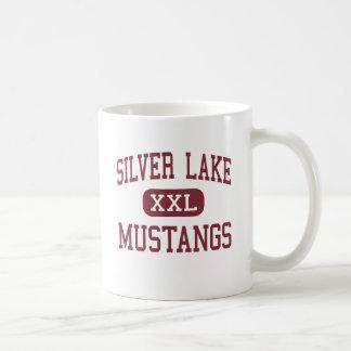 Silver Lake - Mustangs - High - Roseland Nebraska Classic White Coffee Mug
