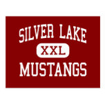 Silver Lake - Mustangs - High - Roseland Nebraska Post Cards