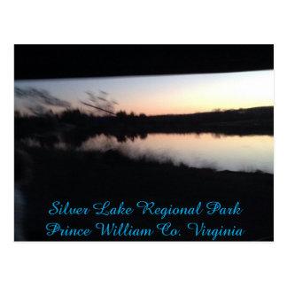 Silver Lake Regional Park @ Sunset Postcard