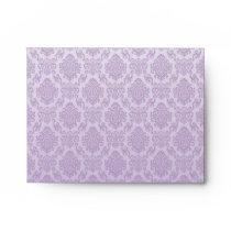 silver,lavender,chic,damasks,floral,lace,pattern,v envelope