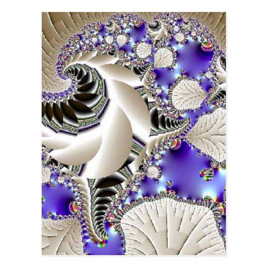 Silver Leaf Postcard