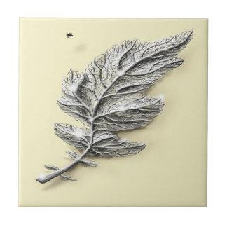 Silver Leaf Tile