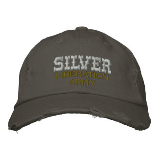 SILVER Liberation Army, Embroidered Baseball Cap