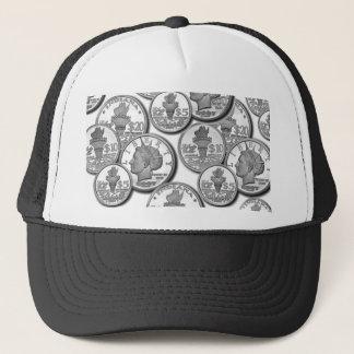 Silver Libertys - Real Money Trucker Hat