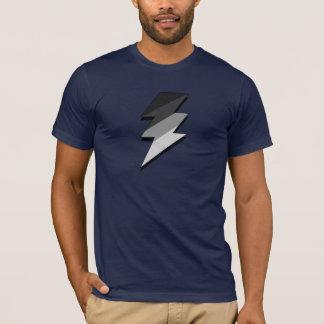 Silver Lightning Thunder Bolt T-Shirt