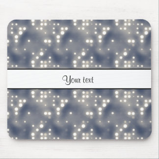Silver Lights Mouse Pad