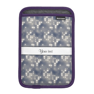 Silver Lights Sleeve For iPad Mini