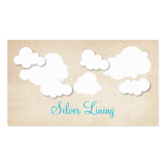 Silver Lining Business Cards
