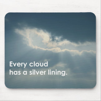 SILVER LINING mouse-pad Mousepad
