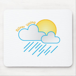 Silver Lining Mousepad