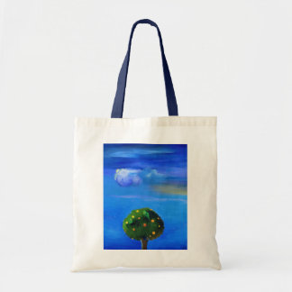 Silver Lining over the Orange Tree 2012 Tote Bag