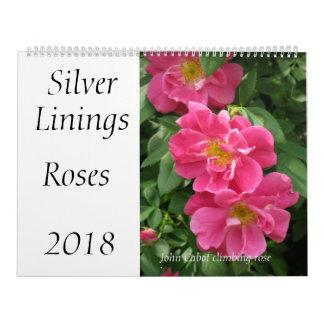Silver Linings Roses calendar - Large