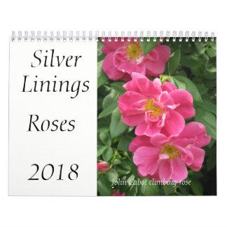Silver Linings Roses calendar - Medium
