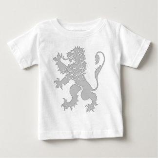 Silver Lion Rampant Baby T-Shirt