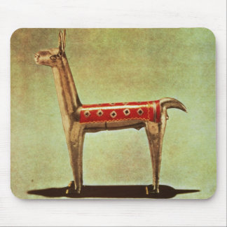 Silver Llama Figurine, from Peru, after 1438 Mouse Pad
