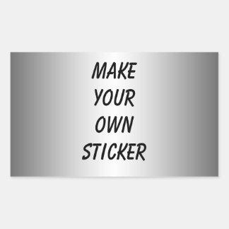 Silver Look Sticker