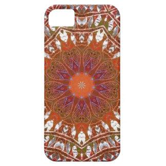 Silver Mandala iPhone 5 Cases
