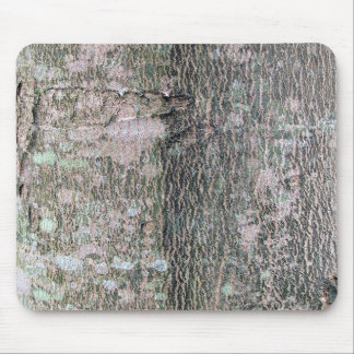 Silver Maple bark with lichens Mouse Pad