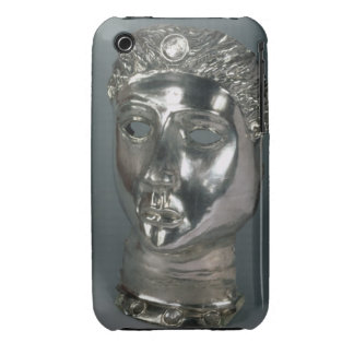Silver mask, Roman, 1st half of 3rd century AD (si iPhone 3 Case-Mate Case