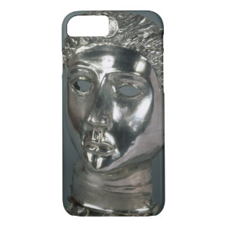 Silver mask, Roman, 1st half of 3rd century AD (si iPhone 7 Case